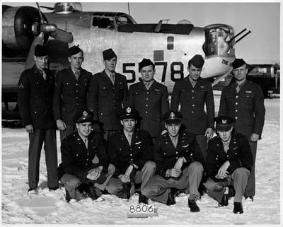 James Benchoff and Crew, Casper Wyo, Dec 1944