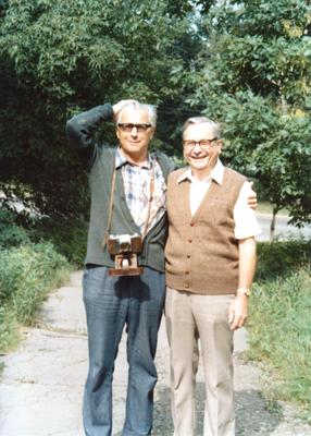 John and Pavel 1989