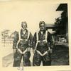 Ed (on left) in paratrooper outfit.
