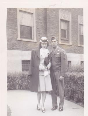 Wedding Day 9 May 1945